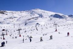 Ski resort royalty free stock photography