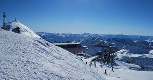 Ski resort Royalty Free Stock Photo