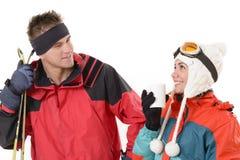 Ski Resort Imágenes de archivo libres de regalías