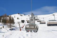 Ski Resort. View in Austria Stock Images