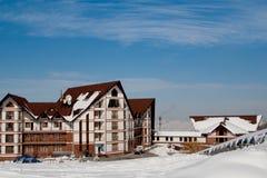 Ski resort. Ak Bulak, Kazakhstan Stock Image