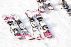 Ski resort Stock Image