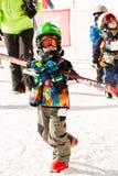Ski resort Royalty Free Stock Images