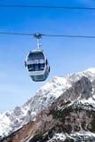 Ski resort in Austria Stock Photos
