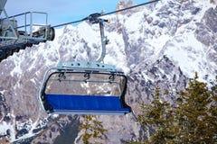 Ski resort in Austria Royalty Free Stock Photography