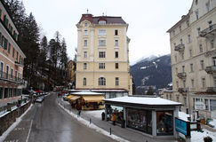 Ski resort Bad Gastein, Austria Royalty Free Stock Image