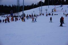 Ski Resort Bania dans Bialka Tatrzanska Pologne Photo libre de droits
