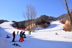 Ski resort in Beijing royalty free stock images
