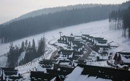 Ski resort Bukovel Stock Photos