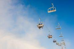 Ski resort in Bukovel, Ukraine Stock Image