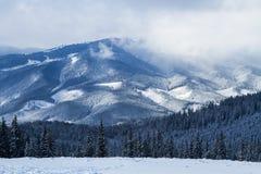 Ski resort Bukovel, Ukraine. Stock Photos