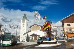 Ski resort Royalty Free Stock Photos