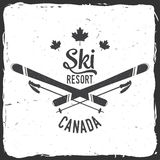 Ski resort, Canada. Stock Photography