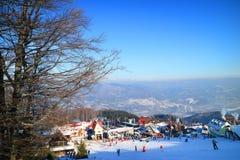 Ski resort in the Carpathians Stock Photography