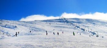 Ski resort in the Carpathians Royalty Free Stock Images