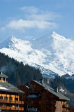 Ski resort chalet Stock Image