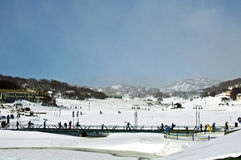 Ski Resort de Austrália Fotos de Stock Royalty Free