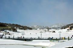 Ski Resort dell'Australia fotografie stock libere da diritti