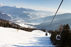 Ski Resort in the Dolomites Royalty Free Stock Photography