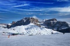 Ski resort in Dolomites, Italy Stock Photos