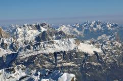 Ski resort in the Dolomities Stock Photography
