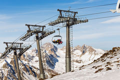Ski resort Dombay Royalty Free Stock Photography