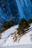 Ski resort Dombay, Karachay-Cherkessia, Russia Stock Image