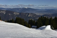 Ski Resort Dreilaendereck (= Three Countries Corner), Austria Stock Photo