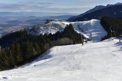 Ski Resort Dreilaendereck (=Three Countries Corner), Austria Royalty Free Stock Photo