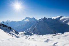 Ski resort Elbrus Royalty Free Stock Image