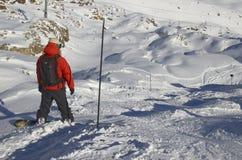 Ski resort France Espace Killy Royalty Free Stock Images