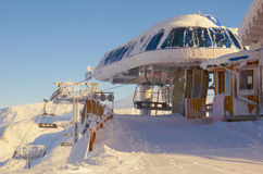 Ski resort France Espace Killy Stock Photography