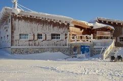 Ski resort France Espace Killy Stock Image