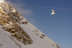 Ski resort France Espace Killy Stock Images