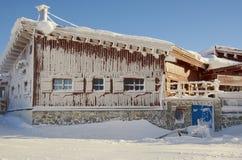 Ski resort France Espace Killy Stock Photo