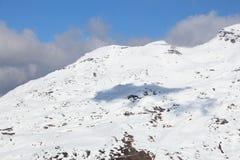 Ski resort in France Stock Photos