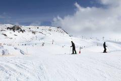 Ski resort France Stock Photos