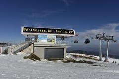 Ski Resort Gerlitzen, Carinthia, South Austria Royalty Free Stock Photo