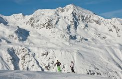 Ski resort  Hohrgurgl. Austria Royalty Free Stock Image