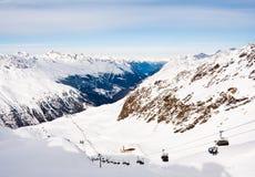Ski resort  Hohrgurgl. Austria Stock Photography