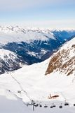 Ski resort  Hohrgurgl. Austria. View of Ski resort  Hohrgurgl. Austria Stock Image