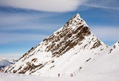 Ski resort  Hohrgurgl. Austria Stock Image