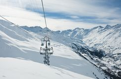 Ski resort  Hohrgurgl. Austria Stock Images