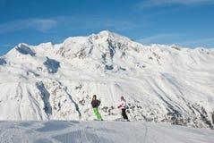 Ski resort  Hohrgurgl. Austria Royalty Free Stock Photo