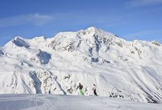 Ski resort  Hohrgurgl. Austria Stock Photography