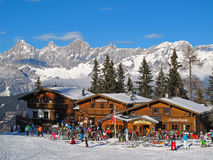 Ski resort Royalty Free Stock Images