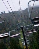 Ski Resort i sommartiden royaltyfri foto