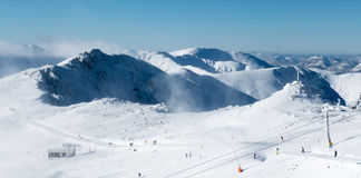 Ski resort Jasna in Low Tatras, Slovakia Stock Photography