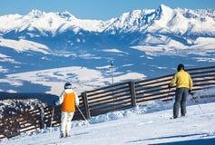 Ski Resort Jasna, Slowakije Stock Fotografie