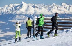 Ski Resort Jasna, Slowakije Royalty-vrije Stock Foto